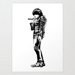 Gerard Way Art Print