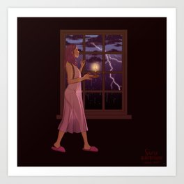 In the Storm Art Print