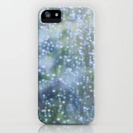 Soft Summer Rain iPhone Case