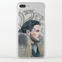 A song of ice and fire Clear iPhone Case