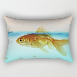 Drop me a line - Fishing for a Chat Rectangular Pillow