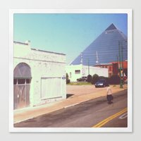 memphis Canvas Prints featuring Memphis by lizzy gray kitchens