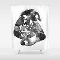vader Shower Curtains featuring Vader by DanielBergerDesign