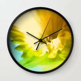 Spring Opening Wall Clock