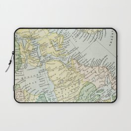 Vintage Map of The East Of Canada Laptop Sleeve