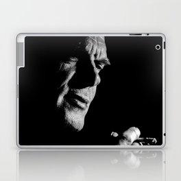 Man black white 3 Laptop & iPad Skin