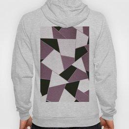 Mauve Black Geometric Glam #1 #geo #decor #art #society6 Hoody