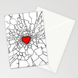 Heartbreaker III White Stationery Cards