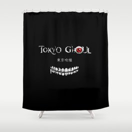 Tokyo Ghoul Japanese Shower Curtain