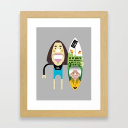 Jordy Smith Framed Art Print