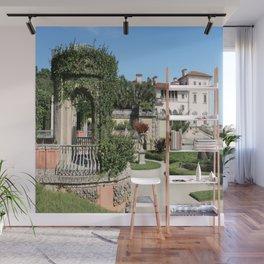 Villa Vizcaya Garden View Wall Mural