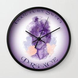 Goodnight, Sweet Prince Wall Clock