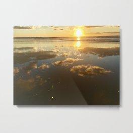 Reflection of Pismo Skies Metal Print