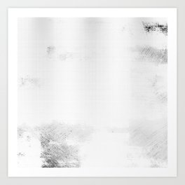 Black & White Abstract Series ~ 6 Art Print