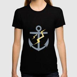 Stormy Nautical Pattern 1 T-shirt