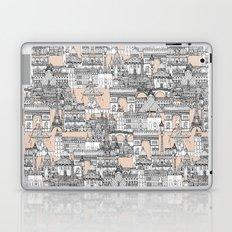 Paris toile sugar pink Laptop & iPad Skin