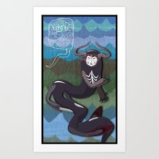 ...From the Waves. Art Print