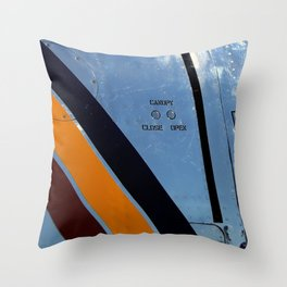 Canopy Controls Throw Pillow