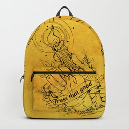 Candle Light Hope (Yellow Colors) Backpack