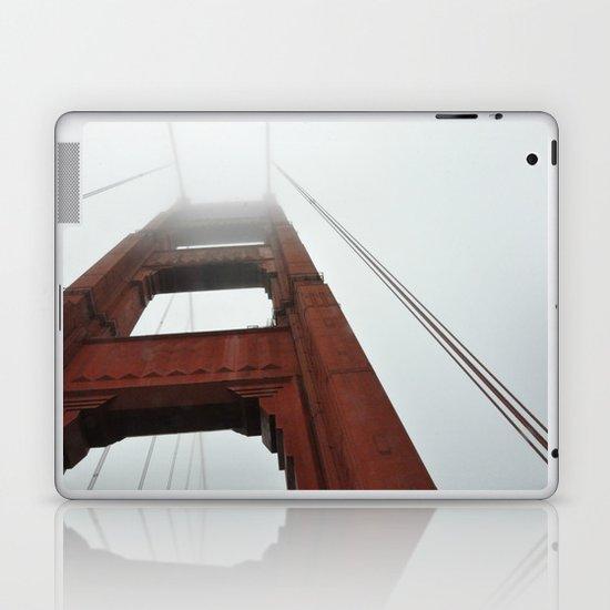 Fog on the Golden Gate Laptop & iPad Skin