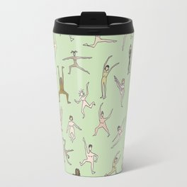 Girls In Color With Boobs Travel Mug
