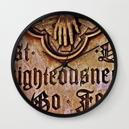 Righteousness Wall Clock