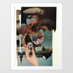 O)C Art Print