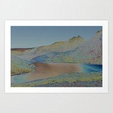 Chromascape 16: Snowdon Art Print