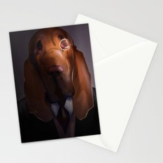 Good-Night, Sir Hound Stationery Cards