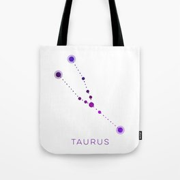 TAURUS STAR CONSTELLATION ZODIAC SIGN Tote Bag