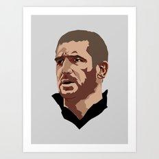 Eric Cantona Art Print