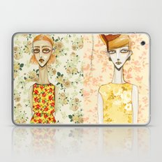flowerella 3 Laptop & iPad Skin