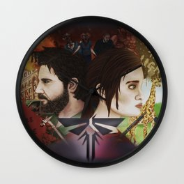 Last Of Us Wall Clock