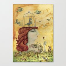 Release Yourself Canvas Print