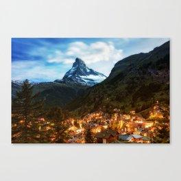 Matterhorn Zermatt Canvas Print