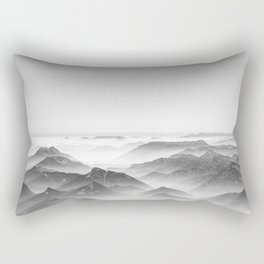 Balloon ride over the alps 2 Rectangular Pillow