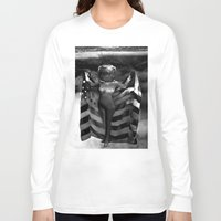 games Long Sleeve T-shirts featuring Head Games by Jaz Henry