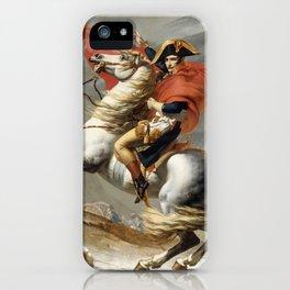 Napoleon Crossing the Alps iPhone Case