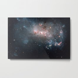 Starburst - Captured by Hubble Telescope Metal Print