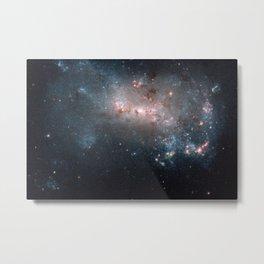 Starburst - Captured by Hubble Telescope Metal Print