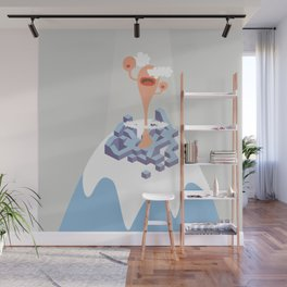 montain mouth Wall Mural