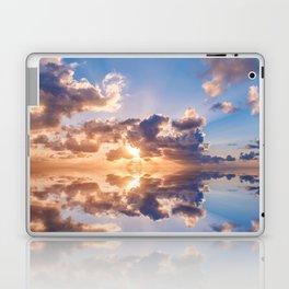 sunset sky over ocean water - landscape photography Laptop & iPad Skin