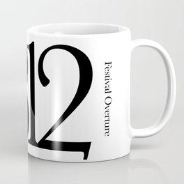 1812 Overture (black) Coffee Mug