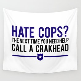 Cops Wall Tapestry
