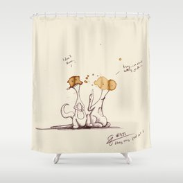 coffeemonsters 493 Shower Curtain
