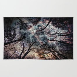 Starry Sky in the Forest Rug