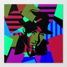 Pop Art Movie Star No.6 Canvas Print