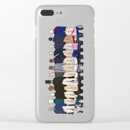 President Butts Clear iPhone Case