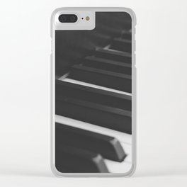 Piano 2 Clear iPhone Case