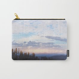 Landscape & Clouds Carry-All Pouch